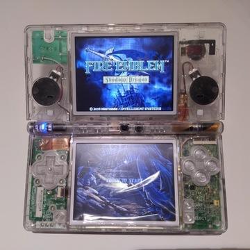 Nintendo DSi   Przezroczysta obudowa   Odnowiony