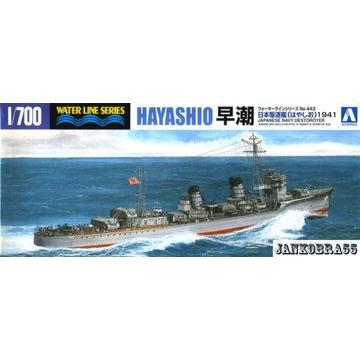 Japoński niszczyciel HAYASHIO