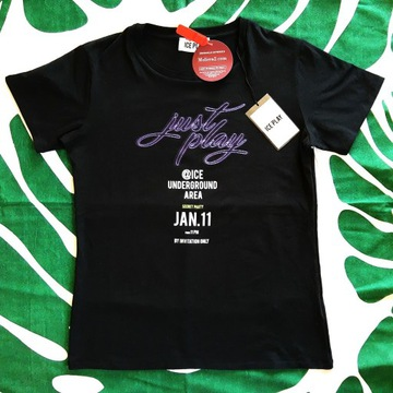 T-Shirt czarny ICE PLAY roz.L Moliera2