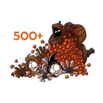 Grzybki 500+ | Shakes And Fidget |