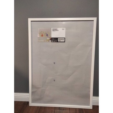 Ramka IKEA Fiskbo 50x70 cm, biała