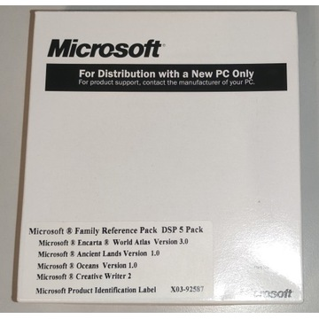 Microsoft Family Reference Pack DSP5 /CD OEM FOLIA