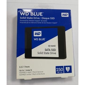 Dysk SSD WD Blue 250GB 3D NAND