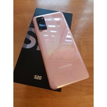 Samsung S20 różowy