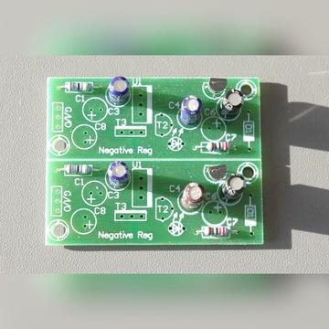 Zasilacz stabilizowany symetryczny AUDIO DIY