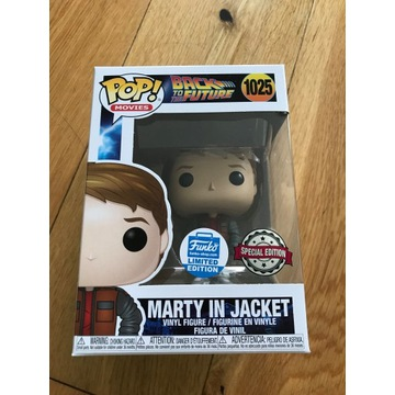Funko POP Back to the Future Marty Unikat 1025