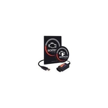 Euroscan ELM327 OBD2 OBDII USB +program SDPROG PL