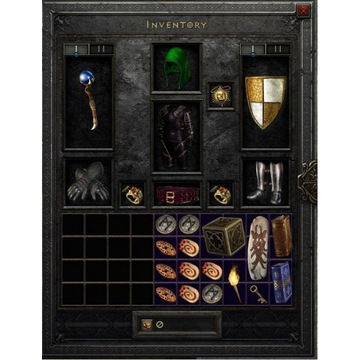 Full EQ soso czarodziejka Diablo2 D2R Ressurected
