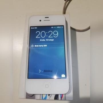 IPhone 4s oryginał paragon Saturn 8gb jak nowy!