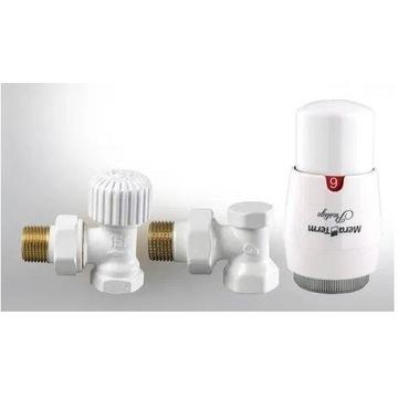 Zestaw termostatyczny kątowy głowica Varioterm