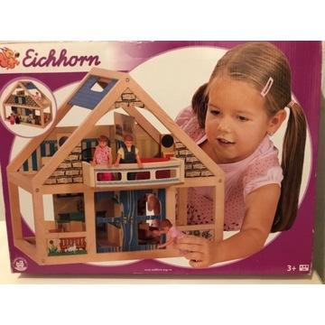 Domek drewniany dla lalek Eichhorn. Nowy. Unikat