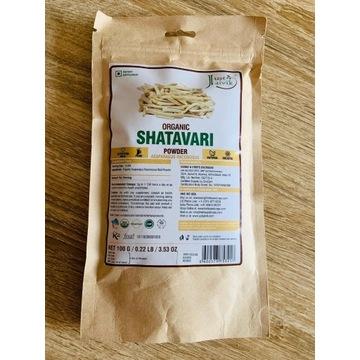 SHATAVARI, Organiczne zmielone ziele, 100 gr