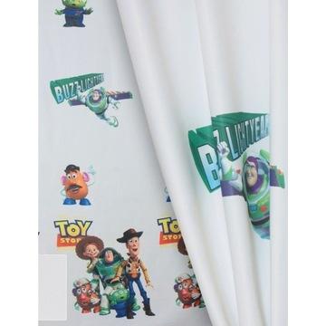 Zasłona na okno dziecięca Toy Story 150x180