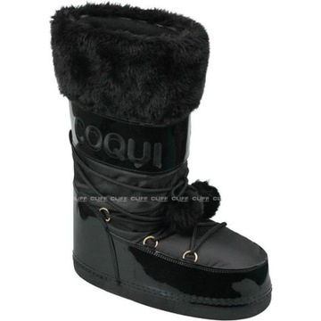 Śniegowce COQUI Snowboot Tuva Black- nowe ! 41