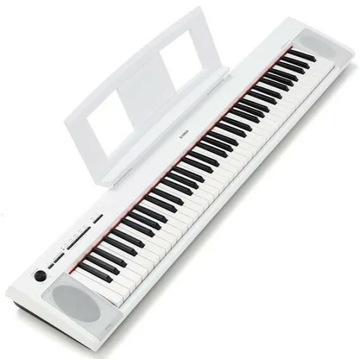 Yamaha NP-12 WH przenośne białe pianino