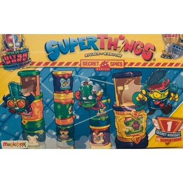 Super Zings Things Box Figurka + Sekretna Kryjówka