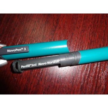 NOVOPEN 3 Wstrzykiwacz Pen do insuliny. Nowy.