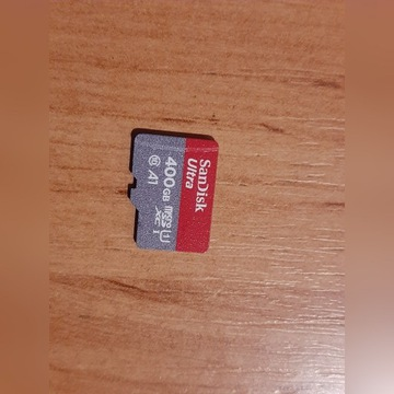 SANDISK ULTRA micro 400GB 100MB/s SDXC A1