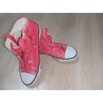 Buty trampki dziewczęce rozmiar 33