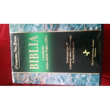 biblia ks J Wujka 1599 r