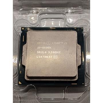 I5 6600K po wymianie pasty-niskie temperatury
