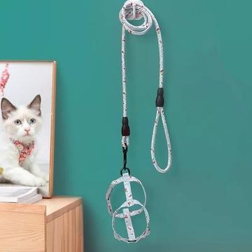 Smycz szelki dla kota małego psa
