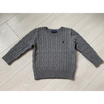 Polo Ralph Lauren 3 lata r. 98 sweter chłopięcy