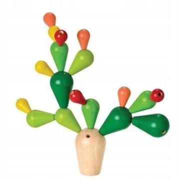 Plan Toys, Układanka Balansujący kaktus