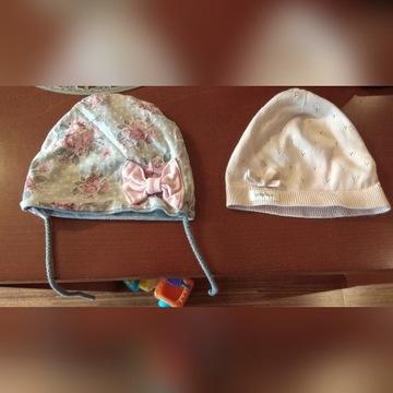 czapka newbie plus druga w kwiaty gratis