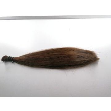 Włosy słowiańskie jasny brąz 35cm