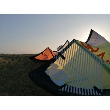 Latawiec słabowiatrowy kite DaSilva Gravity 16m