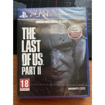 THE LAST OF US PART 2 PS4/PS5 Polska Wersja FOLIA