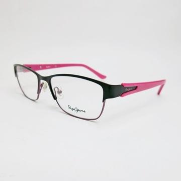 PEPE JEANS Shelley oprawki okulary zerówki różowe