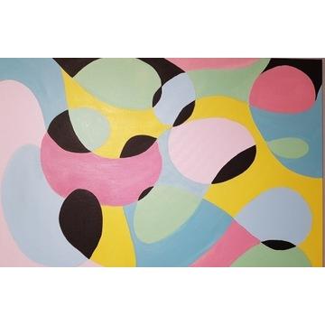 Duży Obraz  Abstrakcja  90x60