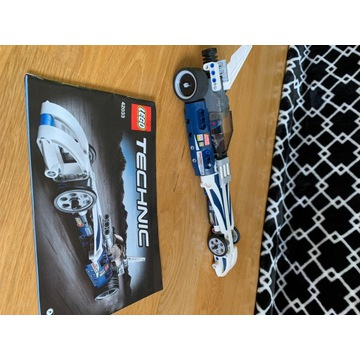 LEGO TECHNIC 42033 Błyskawica/Record Breaker