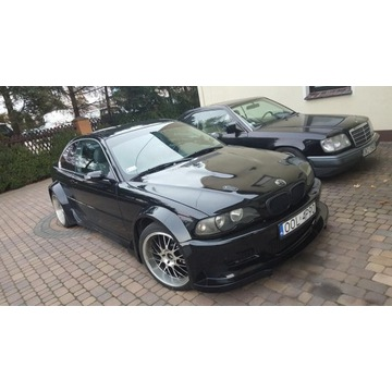 BMW E46 Coupe 2.5 323i  Wide-Body
