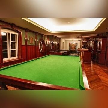 Piękny stół do snooker, bilard