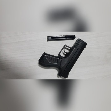 Pistolet wiatrówka UMAREX XBG + KABURA