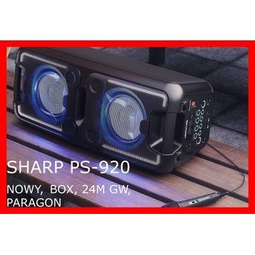 Głośnik Bluetooth Sharp PS-920 150W + Mikrofon +GW