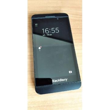 BlackBerry Z10 dotykowy czarny bez simlocka
