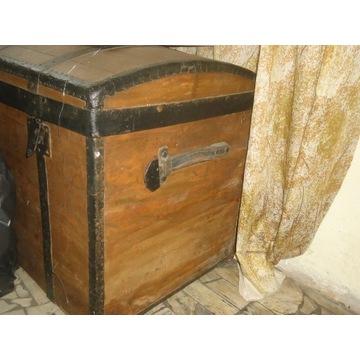 stara skrzynia kufer okucia
