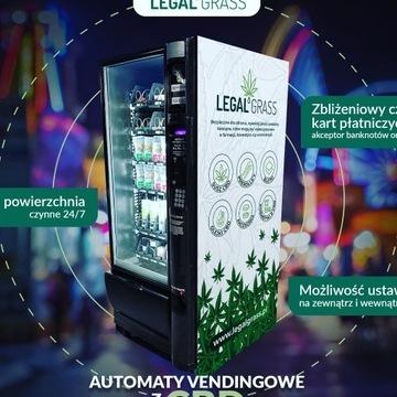 Nowość Automat Sprzedający produkty CBD