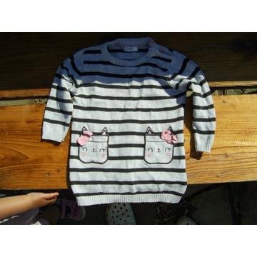 Sweterek dla dziewczynki / r74