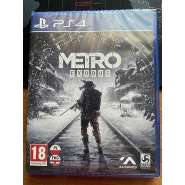 METRO EXODUS PS4/PS5 Polska Wersja FOLIA