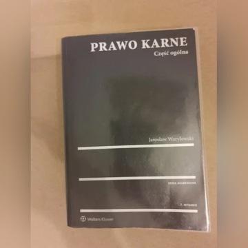 Prawo karne część ogólna, Jarosław Warylewski 2017