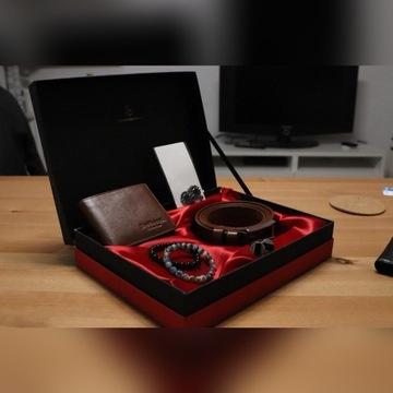 brooch+2Bracelet+LeatherWallet Belt+cuflink