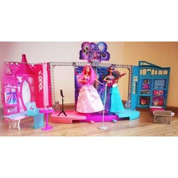 Barbie rockowa księżniczka scena gratis 2 lalki
