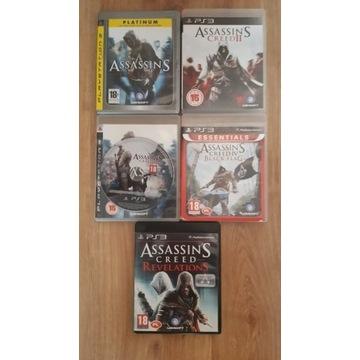 Assassin's Creed Kolekcja 5 gier na PS3