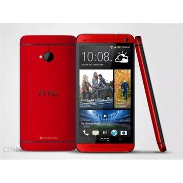 Telefon HTC ONE 32GB czerwony bdb stan