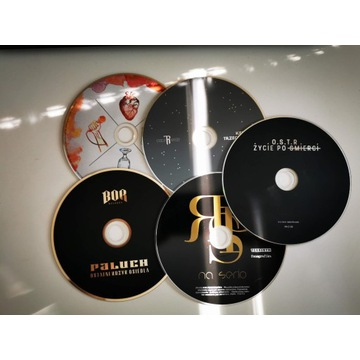 Płyty CD Hip Hop RPS OSTR KĘKĘ PALUCH oryginały